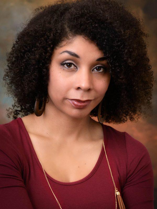 African American Professional Female Studio Portrait
