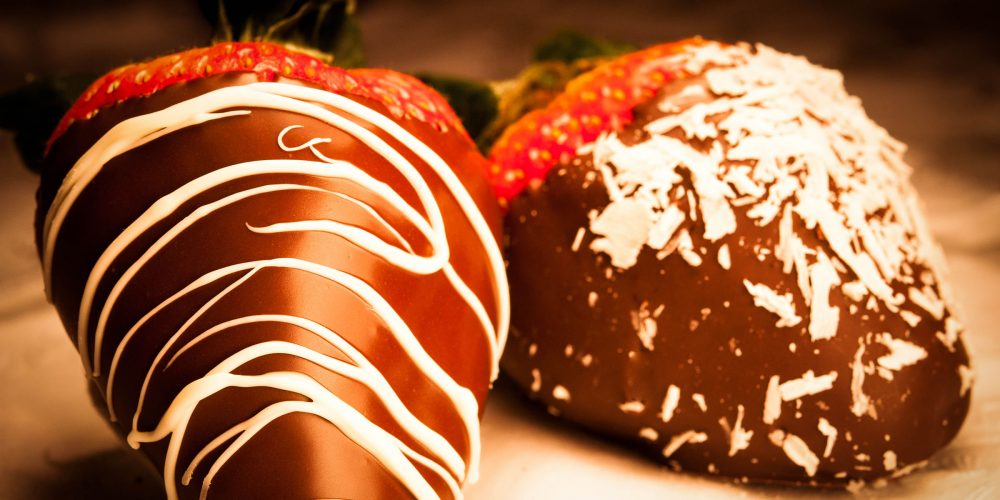 Chocolate Covered Strawberries Food Photography