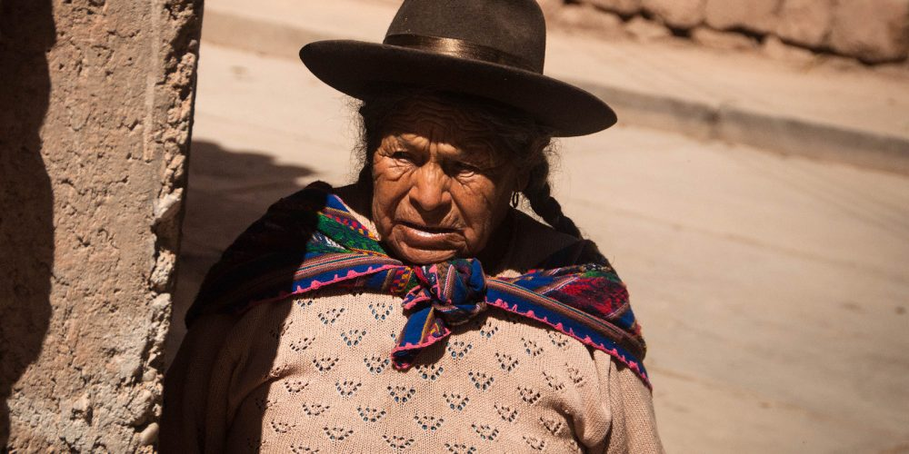 Inca Woman Cusco Peru Travel Photography