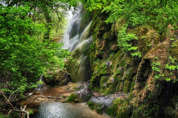 Gorman Falls Colorado Bend Texas Landscape Photography