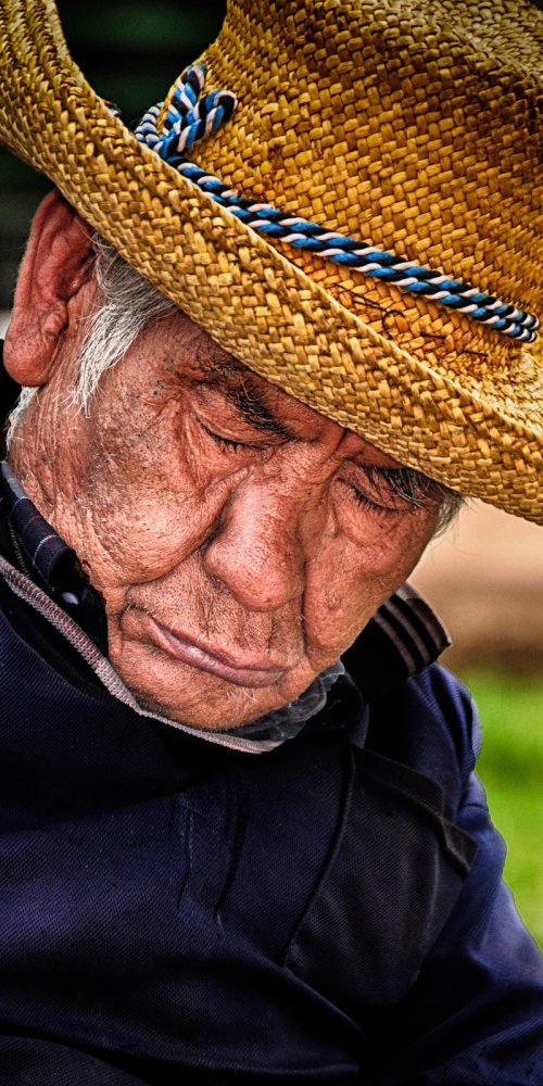 Old Man Cusco Peru Travel Photography