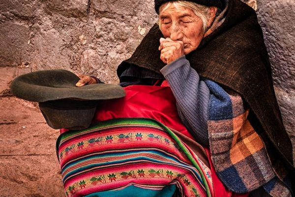 Old Woman Cusco Peru Travel Photography