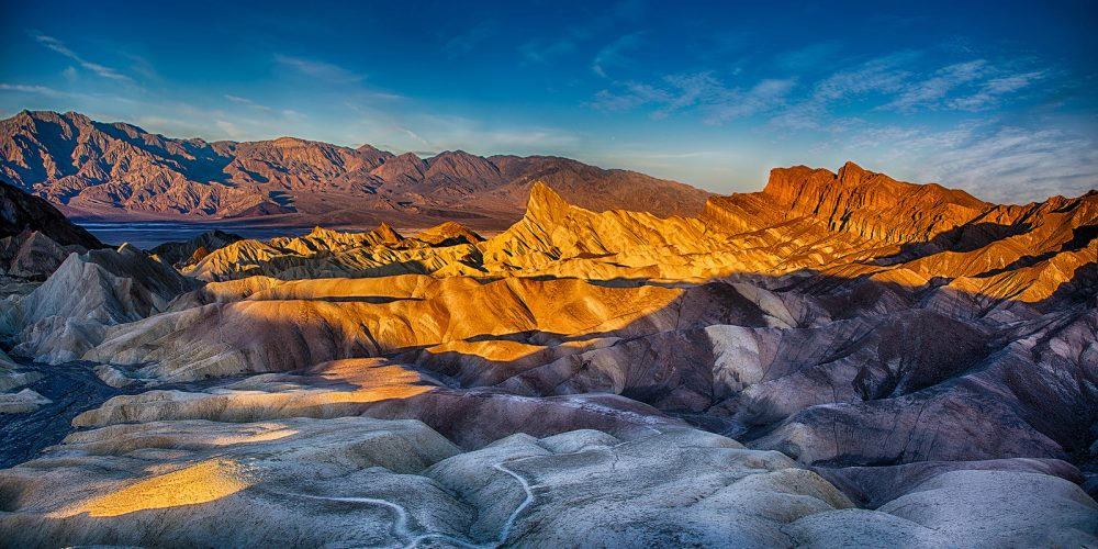 Sunrise Zabriskie Point Death Valley National Park